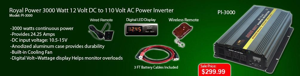 http://www.dcacpower.com/p/3000-Watt-Power-Inverters-12-Volt-DC-To-110-Volt-AC/6